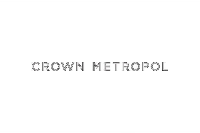 Логотип готелю Crown Metropol