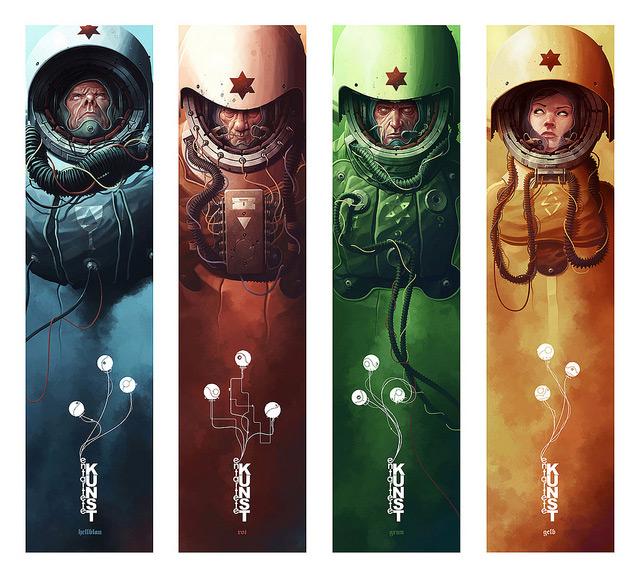 ілюстрація космонавт
