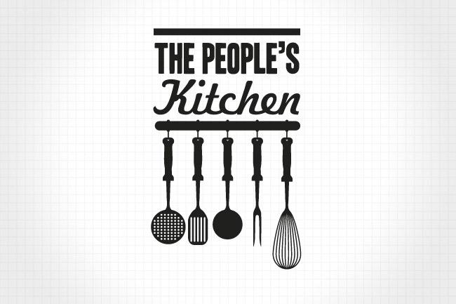 логотип народної кухні
