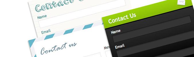 Інтерфейс веб форм сайту