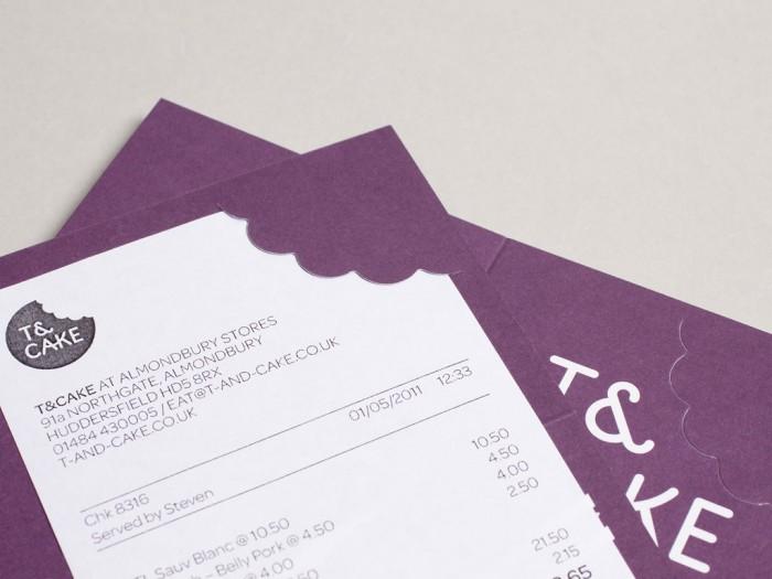 дизайн рахунку ресторану