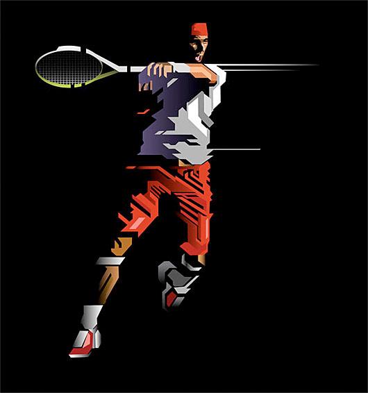 теніс ілюстрація